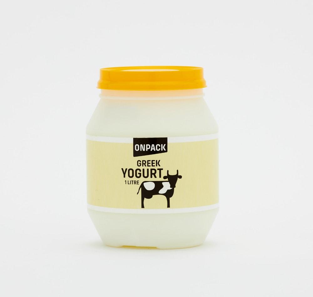Food label - Yogurt