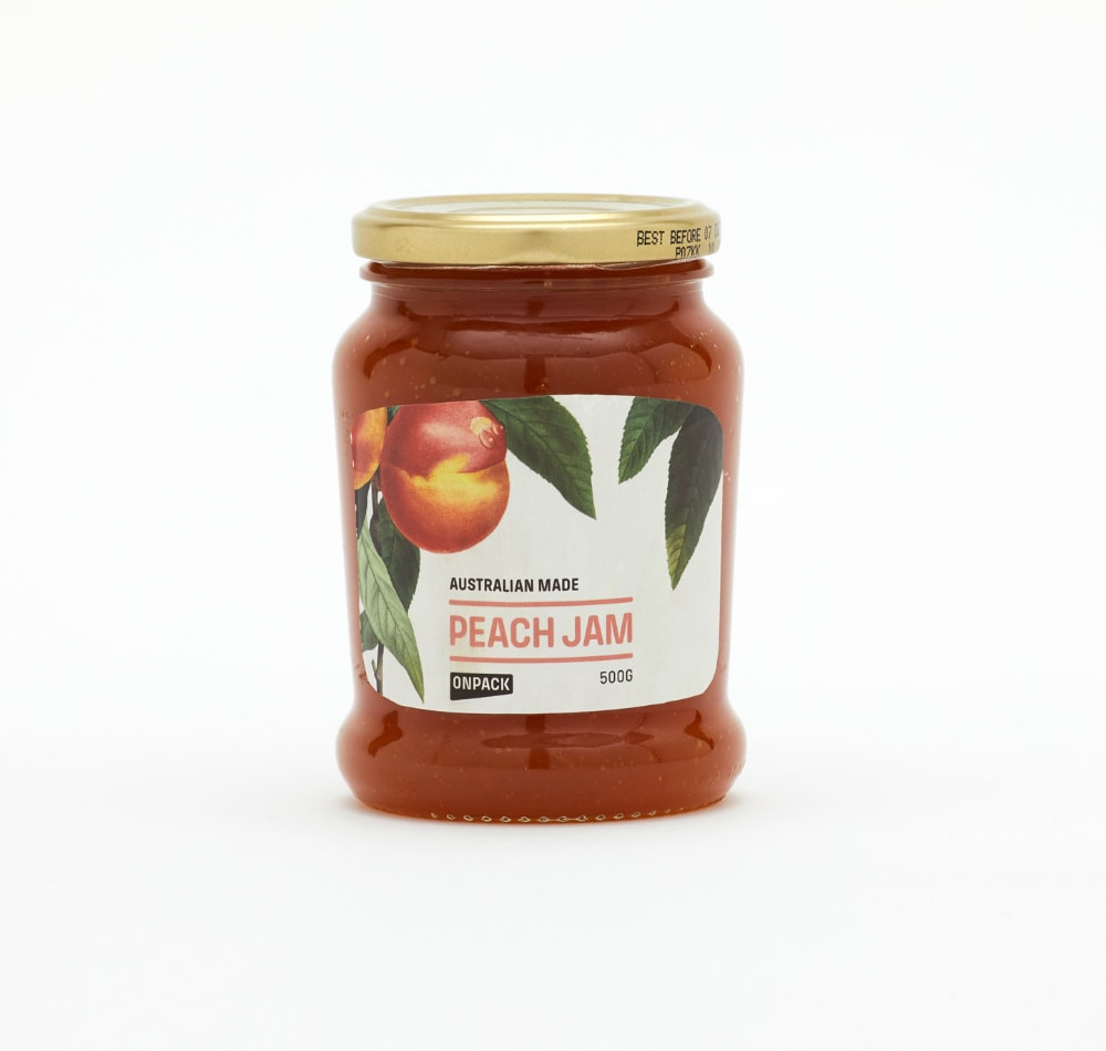 Food label - Jam