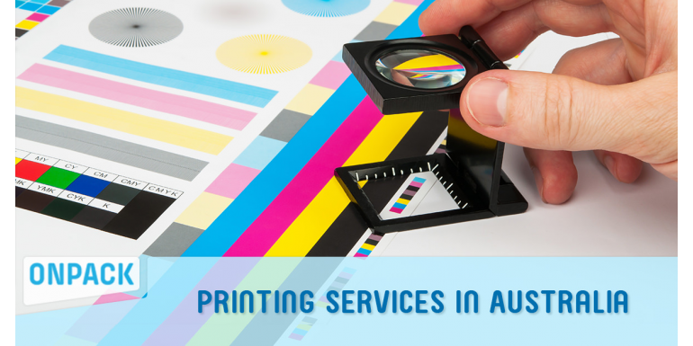 Printing Services In Australia | OnPack