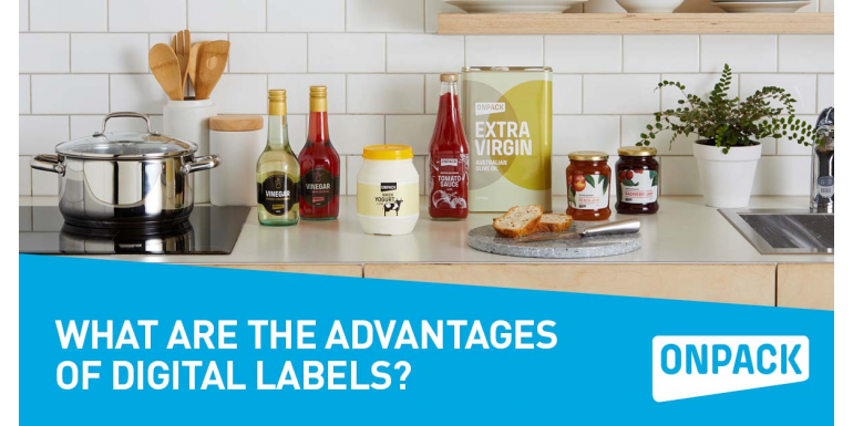 What are the advantages of digital labels?