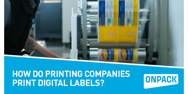 How Do Printing Companies Print Digital Labels?
