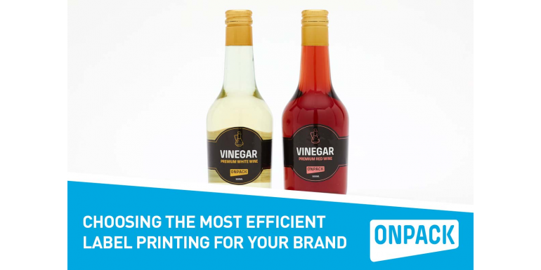 Choosing the Most Efficient Label Printing for Your Brand