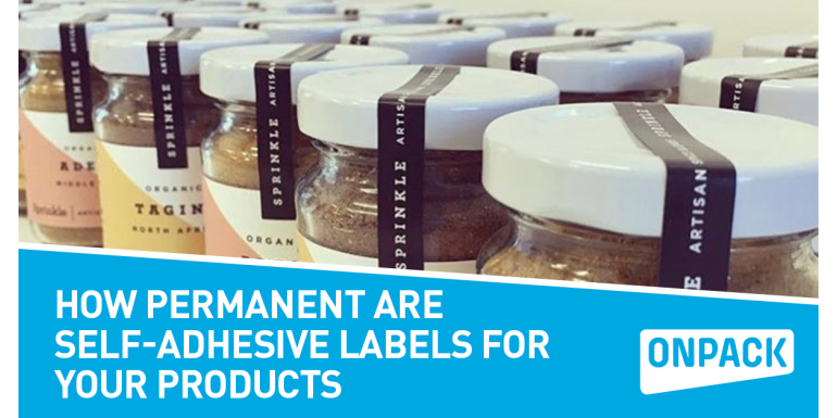 How Permanent are Self-Adhesive Labels for Your Products