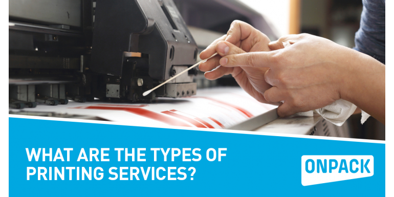 What Are The Types Of Printing Services?