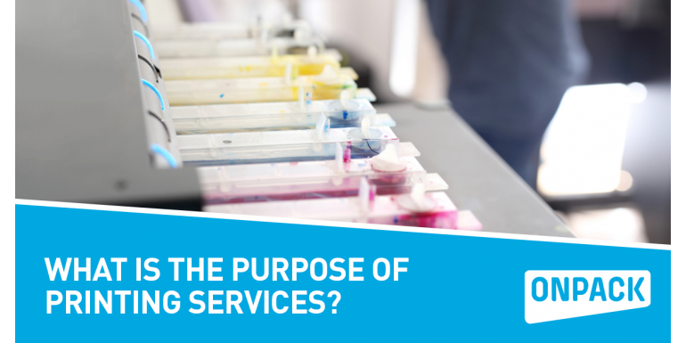 What Is The Purpose Of Printing Services?