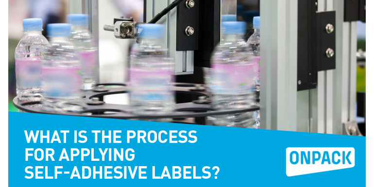 What is the Process for Applying Self-Adhesive Labels?
